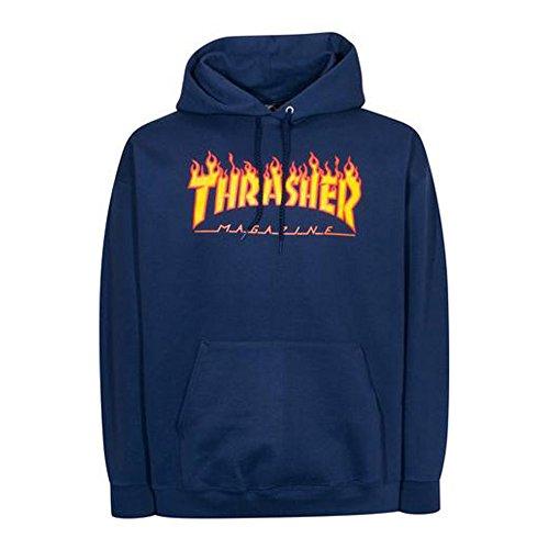 Thrasher 113102-Sudadera Hombre azul M