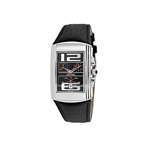 Jovial Herren-Armbanduhr Classic Quarz Mineralglas 08003-GSLC-04