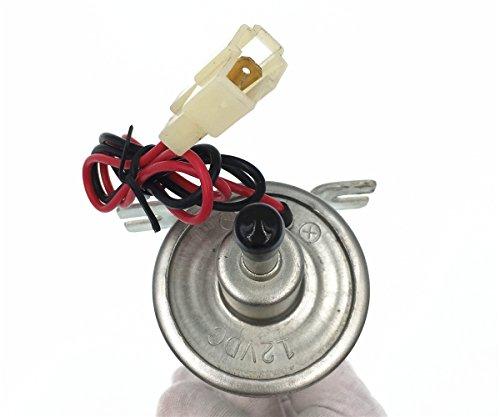 HZTWFC Pompe de transfert de carburant Pompe à essence électrique 12V pour moteur à essence diesel basse pression 12 volts OEM # HEP-02A HEP02A