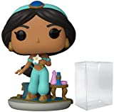 Funko 5 Star Disney: Aladdin - Jasmine with Rajah Action Figure (Includes Pop Box Protector Case)...
