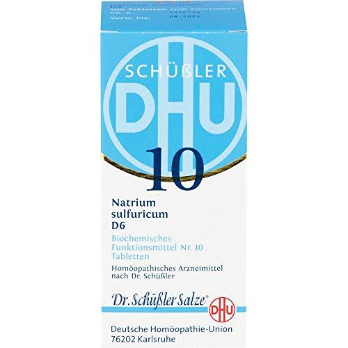 DHU Schüßler-Salz Nr. 10 Natrium sulfuricum D6 Tabletten, 200 St. Tabletten