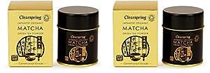 (2 Pack) - Clearspring - Org Matcha Green tea (tin) | 30g | 2 PACK BUNDLE