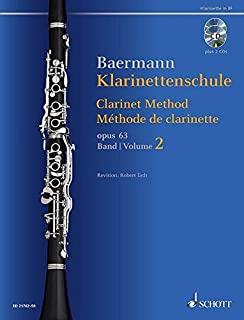 Clarinet Method, Op. 63: Volume 2, Nos. 34-52 - Book with 2 CDs - Revised Edition