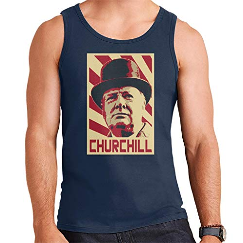 Winston Churchill Retro Propaganda Herenvest