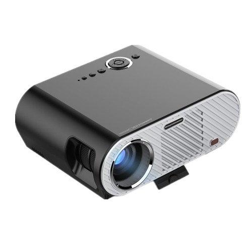 LEJIADA GP90 HD1280x 1080P Mini LED LCD Proyector de teléfono para cine en casa