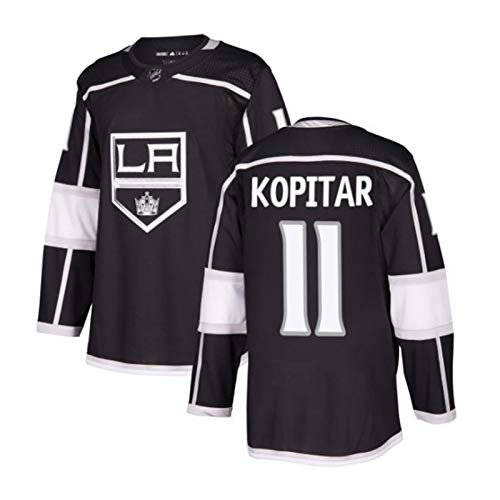 Anze Kopitar#11/Jeff Carter#77/Wayne Gretzky#99 Los Angeles Kings Eishockey Trikots Jersey NHL Herren Sweatshirts Atmungsaktiv T-Shirt Bekleidung (Color : 1, Size : S)