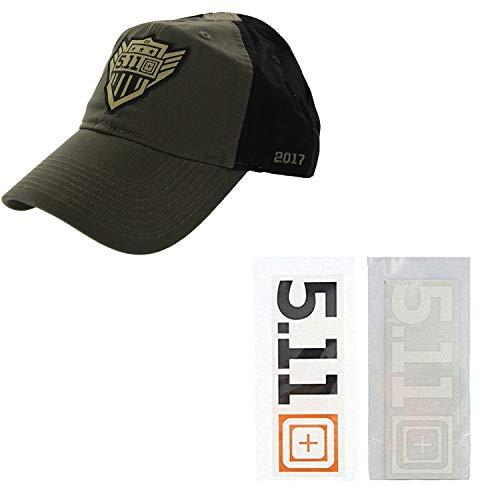 5.11 Kit especial de gorra táctica + adhesivo para gorro, paquete de...