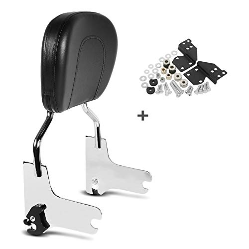 Sissy Bar für Harley-Davidson Touring 97-08 mit Docking Kit Chrom