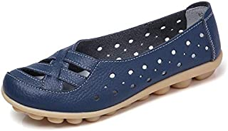 Women's Comfortable Casual Flat Casual Shoes Middle and Old Age Large Size Mother Shoes peas Shoes