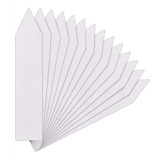 KINGLAKE - Pflanzenschilder in weiß *300 Stk, Größe *300 Stk weiß