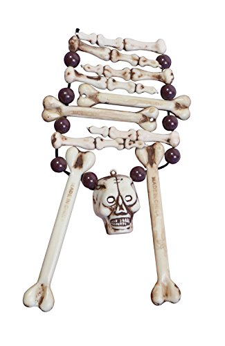 Bristol Novelty BA012 Skelett Knochen Halskette
