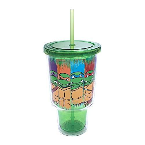TMNT Group - Vaso de plástico para bebidas frías (32 onzas)