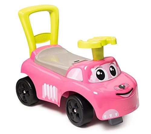 Smoby 720518 Mein Erstes Auto Rutscherfahrzeug, rosa