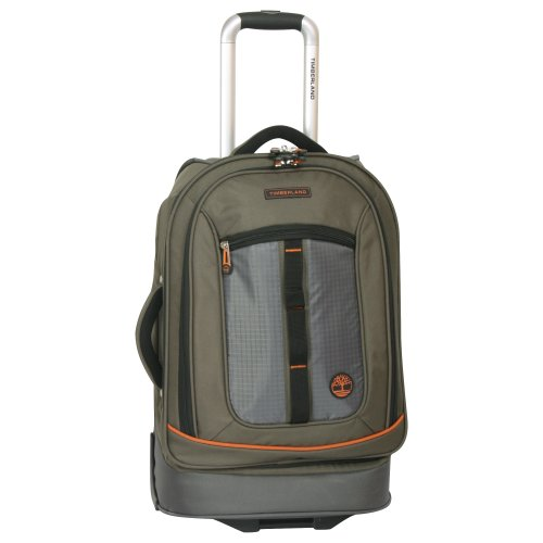 Timberland Expandable Spinner Carry On Suitcase, Burnt Olive