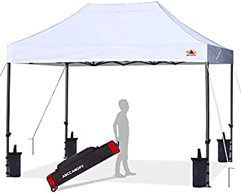 ABCCANOPY Patio Pop Up Canopy Tent 10x15 Commercial-Series White