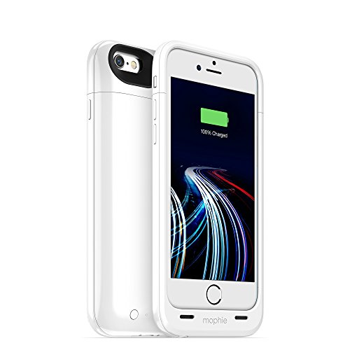 mophie Juice Pack Ultra 3,950mAh Battery Case for iPhone 6s & iPhone 6, White (Renewed)