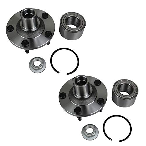 Autoround 518515 Pair 2 Front Wheel Hub and Bearing Assembly Fit for Ford Escape 2001-2012, Mazda Tribute 2001-2011, Mercury Mariner 2005-2011