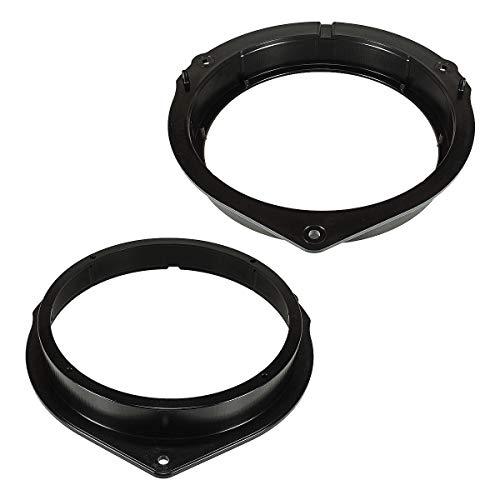 tomzz Audio 2834-000 Lautsprecherringe Adapter Halterungen passend für Mercedes C-Klasse W204 E-Klasse W212 GLK X204 Vito V447 ab 2015 Fronttür für 165mm DIN Lautsprecher