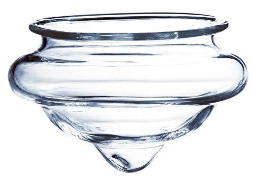 INNA-Glas Schwimmendes Teelichtglas CALI, klar, 4,5cm, Ø 6,5cm - Kerzenglas - Teelicht Glas