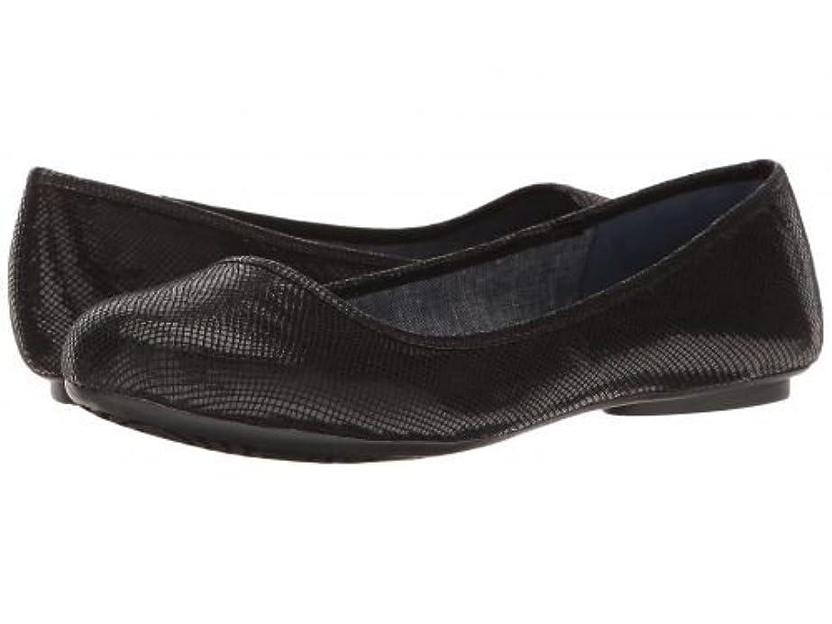 百年救出口[ドクター ショール] Dr. Scholl's レディース 女性用 シューズ 靴 フラット Friendly - Black Mini Snake [並行輸入品]