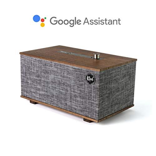 Klipsch The Three GVA Google Assistant Altoparlante Wireless, Nero