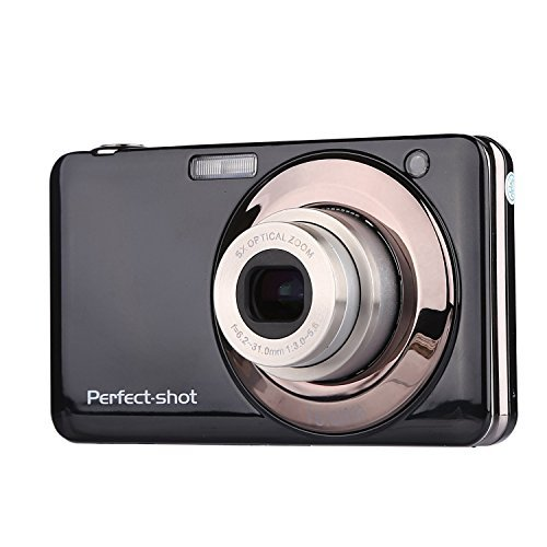 PowerLead Gapo G051 2.7 Inch TFT 5X Optical Zoom 15MP 1280 X 720 HD Anti-shake Smile Capture Digital Video Camera