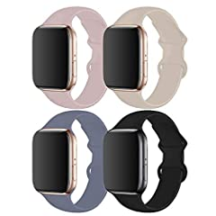 [Compatibility] - You can match this band with any Apple Watch Series 5,Series 4 case of the same size. It also works with all previous versions of Apple Watch, including Apple Watch Series 3. The 40mm band works with the 38mm case; the 44mm band wor...
