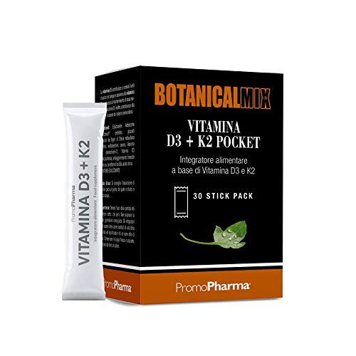 PromoPharma Botanical Mix Vitamina D3 + K2 Pocket - 60 ml