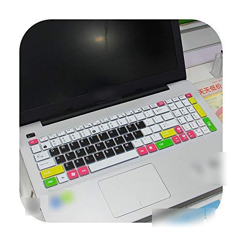 Per Asus X555 X555L X555La X555Ld X555Ln X555Lp X555Lb X555Lf X555Li X555U X555Lj 15.6' 15 Custodia di protezione per tastiera di computer portatile, candyblack
