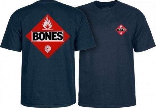 Powell Peralta Flammable Flame Heren T-Shirt Zwart Ripper Bones OG Skateboard Ronde hals Korte mouwen Tops Kleding
