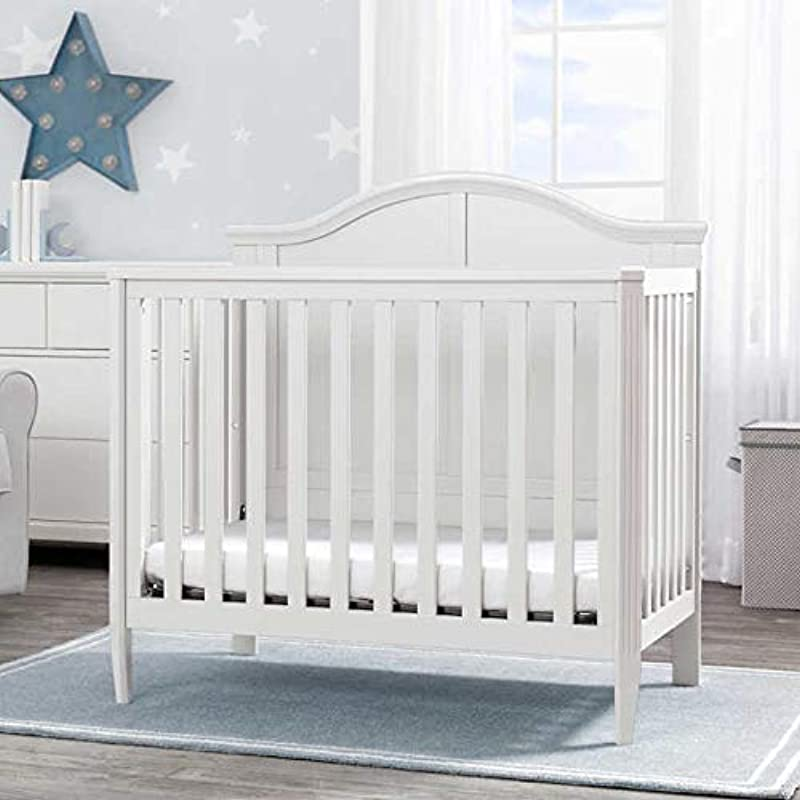 Bailey Convertible Mini Crib Includes Mattress And 2 Fitted Sheets