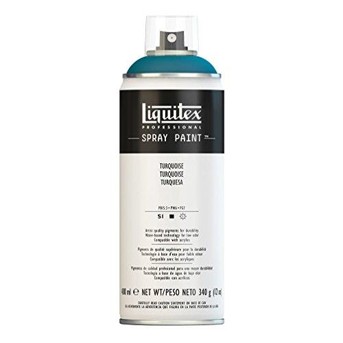 Liquitex Professional Peinture acrylique Aérosol 400 ml Turquoise