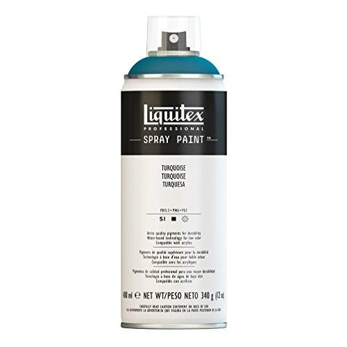 Liquitex Professional Spray Paint Acrylfarbe, Türkis, 400ml Acrylspray