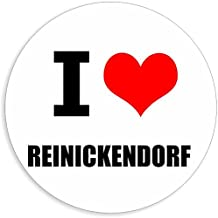 I love Reinickendorf in 2 maten verkrijgbaar stickers meerkleurige sticker Decal 5 x 5 cm