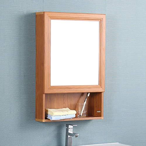 O&YQ Bad- / Küchenzubehör Bad Regale Rack Wandhalterung Lagerung Wasserdicht mit Spiegel Durable...