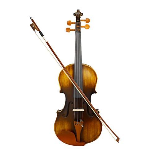 Milisten Violín de Madera para Violinistas Principiantes Vi
