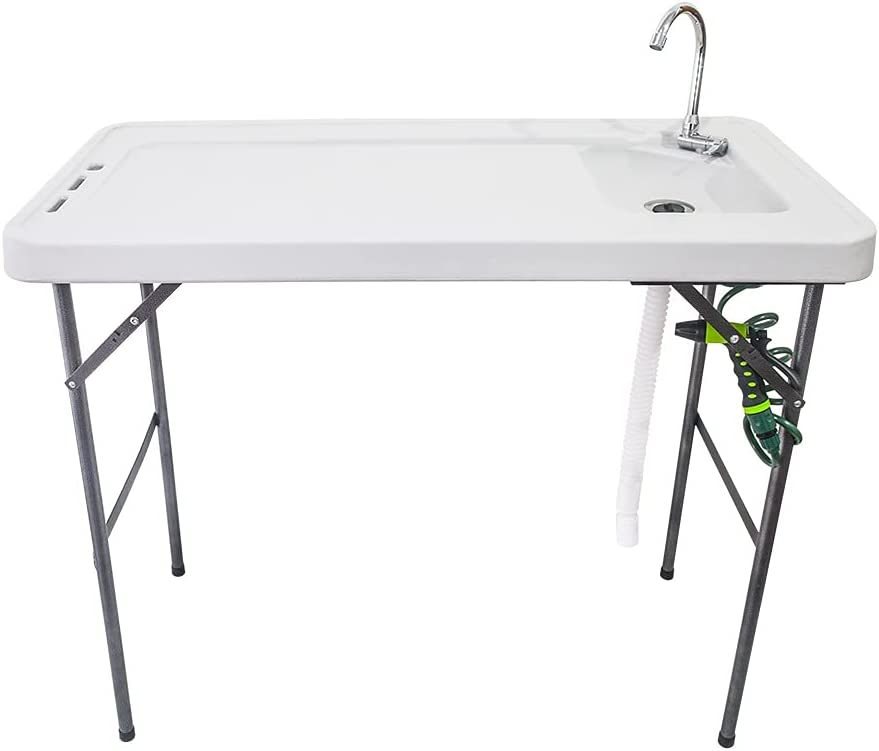Fyjhunann latest BXTY118 Rare Outdoor Folding Pic Table Multifunctional Fish