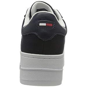 Tommy Jeans Iconic Essential Flatform, Zapatillas Mujer, Azul (Twilight Navy), 37 EU