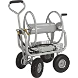 Strongway Garden Hose Reel Cart - Holds 5/8in. x 400ft.L Hose