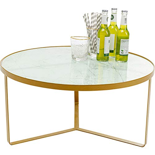 Kare - Tavolino Marble Gold 55 cm
