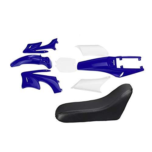 LIUXIAOKE 8 stücke Kunststoffverkleidung Körper Kits Fit für 47 49cc Motor 2 Schlaganfall für Apollo Fit Für Orion Kids Schmutz Pocket Bike Minimoto Teile (Color : Blue)