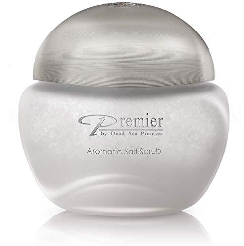 Aromatic Salt Scrub - Silver | Exfoliante corporal con sal del mar muerto | Alivia Psoriasis | Alivia Eczema | Recomendado por dermatólogos | Premier by Dead Sea Premier