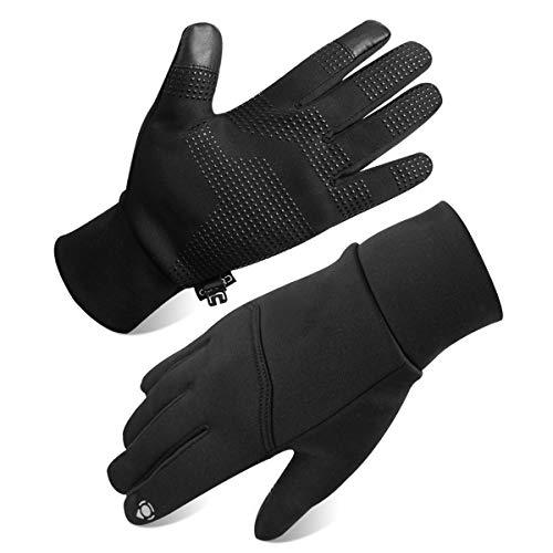 Opard Touchscreen Handschuhe Unisex Winter Warme Fleece Innenfutter Handschuhe Wasserdicht Rutschfestes Abriebfest Arbeit Sport Outdoor Motorrad (M)