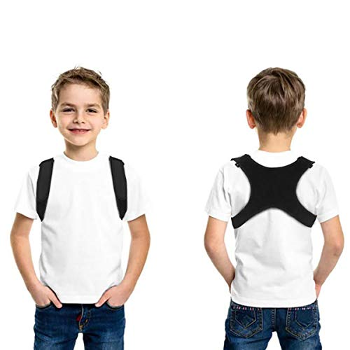 Posture Corrector for Men Women&Children Upper Back Brace Adjustable and Effective Clavicle Support Device for Thoracic Kyphosis and Shoulder Pain Relief by Aaiffey