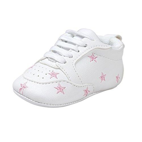 Estamico Zapatillas Deporte Blancas Cordones Cuero