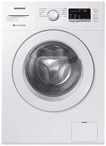 Samsung 6.0 Kg Inverter 5 star Fully-Automatic Front Loading Washing Machine (WW61R20GLMW/TL,...