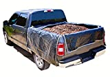 """Portable Truck Bed Liner Heavy Duty, Adjustable Truck tarp to Protect Your Full Size Truck Bed (Small Size Truck - Bed Length (Large) 82"""" - 88"""")"""