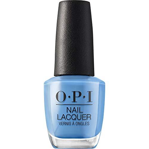 OPI Nail Polish, Nail Lacquer, Rich Girls and Po Boys, Blue Nail Polish, 0.5 Fl Oz