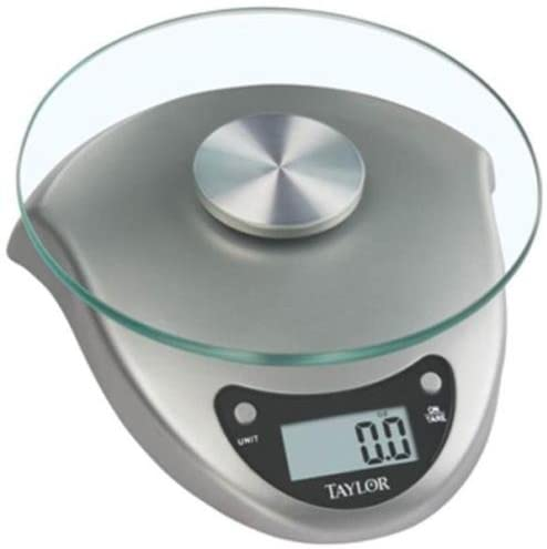 Taylor Precision Products Scale Kitchen Silver 6Lb 3831S
