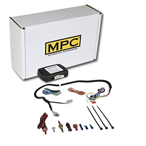 MPC Factory Remote Activated Remote Start Kit for 2013-2017 RAM 1500 - Tip-Key - with T-Harness - FlashLink Updater